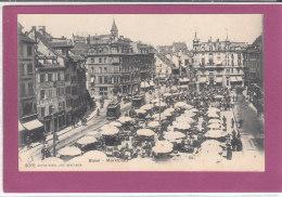 BASEL .- Marktplatz - BS Bâle-Ville