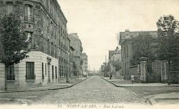 CPA 93 NOISY LE SEC RUE CARNOT 1916 - Noisy Le Sec
