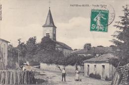 23163 NAIVES EN BLOIS Vue Eglise. Ed Andre Rossi Naives - Et Le Monsieur Fait Bonjour Au Photographe ! - France