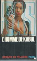 """SAS   """" L´HOMME DE KABUL """" N° 25 - GERARD DE VILLIERS - PLON - SAS"""
