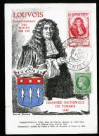 A2595) France Frankreich Maximumkarte Mi.772 Ersttag 15.03.1947 Gelaufen - Cartas Máxima