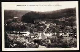 MERY S/ Ourthe - Panorama Vers L'Ile ,le Pont,la Gare Et Le Château   // - Esneux
