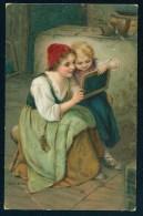 Kaulbach, H. - Children ------- Postcard Not Traveled - Kaulbach, Hermann