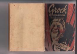 """ZIRCUS / CIRCUS / CIRQUE - GROCK - """"MEIN LEBEN ALS CLOWN"""", Zeichnung, Signiert - Biographien & Memoiren"""