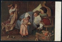 Kaulbach, H. - Der Eingebildete Kranke.  ------- Postcard Not Traveled - Kaulbach, Hermann