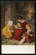 Kaulbach, H. - Ein Neues Bilderbuch. Un Nouveau Livre D'images. ------- Postcard Not Traveled - Kaulbach, Hermann