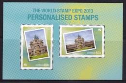 Australia 2013 World Stamp Expo Personalised Stamp Minisheet MNH - New Zealand