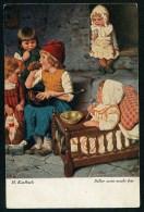 Kaulbach, H. - Selber Essen Macht Fett. ------- Postcard Not Traveled - Kaulbach, Hermann