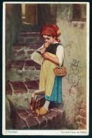 Kaulbach, H. - Vor Dem Gang Zur Schule ------- Postcard  Traveled - Kaulbach, Hermann