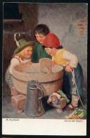 Kaulbach, H. - Da Ist Der Fisch! ------- Postcard Not  Traveled - Kaulbach, Hermann