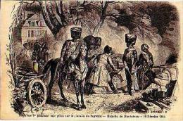 Montereau   239         Napoléon 1er Pointant Une Pièce Sur Le Plateau De Surville...  . - Montereau