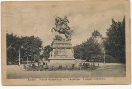 Lwow Lemberg  Pomnik Sobieskiego P. Used Poland - Ukraine