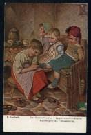 Kaulbach, H. - Das Hausmutterchen - La Petite Mere De Famille.  ------- Postcard Not  Traveled - Kaulbach, Hermann