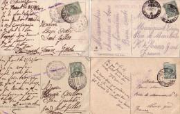 GUERRE 14-18 - 4 CARTES POSTALES - MILITARE INTENO 2e ARMATA - 12-12-1917 - POSTA MILITARE 56e DIVISION 12-6-1917 - Unclassified