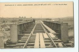 ARMENTIERES - Pont MARCILLE - Travaux Du 5è Génie Juillet Et Août 1912 - Edition Bazar Militaire - TBE - 2 Scans - Armentieres