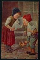 Kaulbach, H. - Have You Any More? - En As-tu Davantage? ..  ------- Postcard Not Traveled - Kaulbach, Hermann