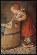 Kaulbach, H. - Small Girl - Nr. 25/857 ------- Postcard Not Traveled - Kaulbach, Hermann