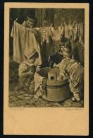 Kaulbach, H. - Grosse Wasche ------- Postcard Not Traveled - Kaulbach, Hermann
