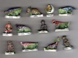 Série Complète 12 Fèves Brillantes LES DINOSAURES Dinos / Disney 2001 - Disney