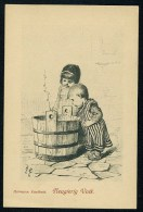 Kaulbach, H. - Neugierig Volk ------- Postcard Not Traveled - Kaulbach, Hermann