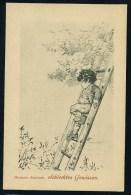 Kaulbach, H. - Schlechtes Gewissen ------- Postcard Not Traveled - Kaulbach, Hermann