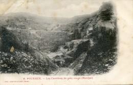 Pouxeux - Les Carrières De Grès Rouge ( Marchal) - Pouxeux Eloyes