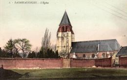 CPA  -   RAIMBEAUCOURT   (59)    L' Eglise - France