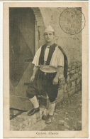 Costume Albanese Tresor Et Postes 518 Edit 2568 Alemani Text Misere Misery To Levite Decize - Albania
