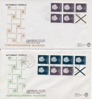 PzB 6F En 7F Op Philato FDC's 1968 - Blanco (CW = € 22,50) - FDC