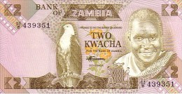 ZAMBIE   2   Kwacha   Emission De 1980   Pick 24 C    ***** BILLET NEUF ***** - Zambia