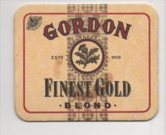 Alt499 Sottobicchiere Birra, Beer Mat Coaster Bier Deckel Posavasos Sous Bock Biere Gordon Gold Scotland Scozia - Sous-bocks