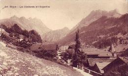 248  -  GRYON   - LES  DIABLERETS   ET   L  ARGENTINE - Suisse