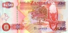 ZAMBIE  50  Kwacha   Emission De 2008   Pick 37 G    *****  QUALITE  XF   ***** - Zambia