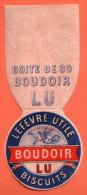 LEFEVRE UTILE - Habillage  Boite  : BOUDOIR - Publicidad