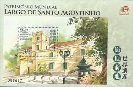 mac1006s Macau 2013 World Heritage – St. Augustine's Square s/s