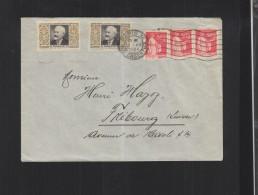 Lettre Paris 1934 Vignette Tuberculose - Poststempel (Briefe)