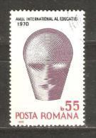ROMANIA - 1970 Education Year 55b CTO   SG 3749  Sc 2191 - 1948-.... Republics