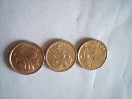 Lot De 3*5 Pesetas, Espagne, 1991,1993,1994 - [5] 1949-…: Monarchie