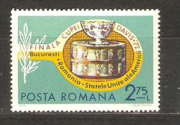 ROMANIA - 1972 Davis Cup Tennis 2.75L MH *   SG 3950  Sc 2373 - 1948-.... Republics