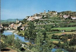- FRANCE (12) - CPSM Vierge CAMARES - Vue Sur La Ville Haute - Editions CIM 664 - - Autres Communes