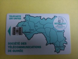 Phonecard GuineeUsed - Guinea