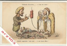 Algérie -  Illustateur Chagny -Chibouk D'occasion.... - Métiers