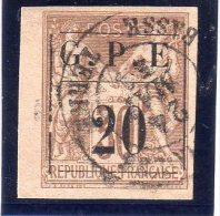 GUADELOUPE : N°1. BDF .TB - Guadeloupe (1884-1947)