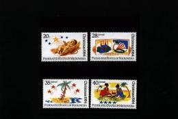 MICRONESIA - 1984  CHRISTMAS  SET  MINT NH - Micronesia