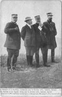 MILITAIRE 193  - CPA  - Président De La République  Avec Généraus Joffre Castelnau Gouraud     Belle Carte - Personajes