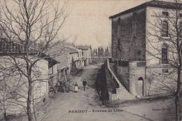 81) Parisot (Tarn) Avenue De Lisle - (animée - éditeur Sirven) - Non Classés