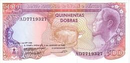 SAO TOME ET PRINCIPE  500  Dobras Daté Du 04-01-1989  Pick 61     ***** BILLET  NEUF  ***** - Sao Tomé Et Principe