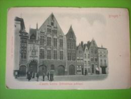 Bruges, L'ancien Tonlieu (Bibliothèque Publique)  A - Brugge