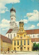 Augsbourg - St Ulrich - Cachet Postal 1969 - Augsburg
