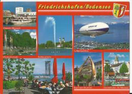 Friedrichshafen - Musée Zeppelin, Jet D'eau, St Nicolas - - Friedrichshafen